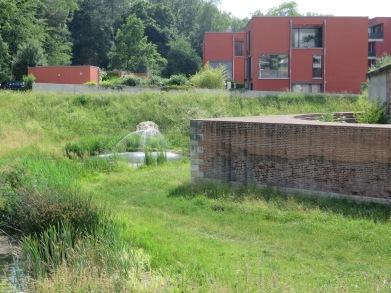 Wohnen an der ehemaligen Schießscharte: Wohngebiet Glacispark in Neu-Ulm. Foto: Spiesz